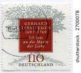 Vintage World Postage Stamp Ephemera germany (editorial) - stock photo