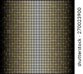 vector abstract golden disco... | Shutterstock .eps vector #270023900