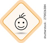 Face Sign Icon  Vector...