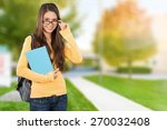 student  university  college... | Shutterstock . vector #270032408