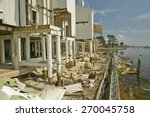 Destroyed Oceanside Condos Fro...