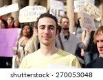 new york city   april 15 2015 ... | Shutterstock . vector #270053048
