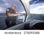 County Sheriff Giving Speeding...