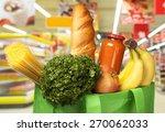 groceries  healthy eating  food. | Shutterstock . vector #270062033