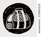 doodle pet carrier | Shutterstock . vector #270062210
