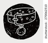 doodle pet collar | Shutterstock . vector #270062510