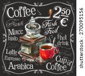 Coffee  Espresso Vector Logo...