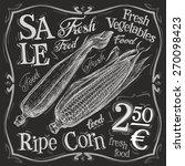 corn vector logo design... | Shutterstock .eps vector #270098423