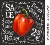 Sweet Pepper Vector Logo Desig...