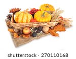 thanksgiving   different... | Shutterstock . vector #270110168