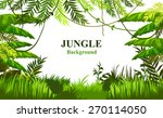 vector tropical landscape | Shutterstock .eps vector #270114050
