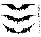 vector set. wings.   Shutterstock .eps vector #270116996