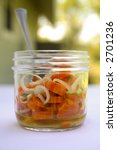 Marinated Carrot Salad In...