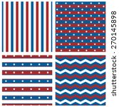 collection of patriotic patterns | Shutterstock .eps vector #270145898
