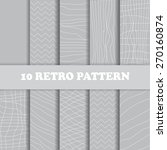 10 seamless striped patterns | Shutterstock .eps vector #270160874