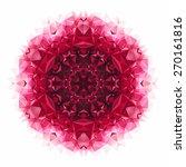 vector triangle pattern...   Shutterstock .eps vector #270161816