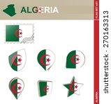 morocco flag set  flag set  51. ... | Shutterstock .eps vector #270163313