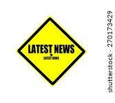 Latest News  Black Stamp Text...