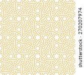 geometric vector pattern | Shutterstock .eps vector #270207974