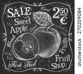 sweet apple vector logo design... | Shutterstock .eps vector #270209084