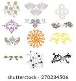 ornament decoration | Shutterstock .eps vector #270234506