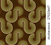 Retro wallpaper pattern - stock vector