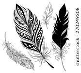 vector peerless decorative... | Shutterstock .eps vector #270249308