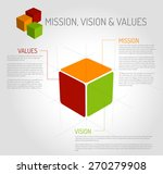 vector mission  vision and... | Shutterstock .eps vector #270279908