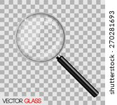 Magnifying Glass Vector...