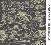 fish pattern | Shutterstock .eps vector #270281870
