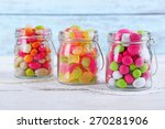 Multicolor Candies In Glass...