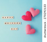 happy mothers day  | Shutterstock . vector #270292133