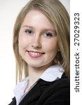 portrait of businesswoman | Shutterstock . vector #27029323