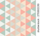 modern triangle pattern  ... | Shutterstock .eps vector #270302150