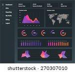 detail info graphic vector... | Shutterstock .eps vector #270307010
