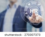 Human resources concept with...