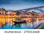 porto  portugal old town...   Shutterstock . vector #270312668