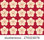 seamless abstract floral... | Shutterstock .eps vector #270323078