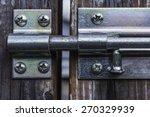 Locking Slide Latch On Gate