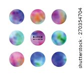 blurred abstract circles | Shutterstock .eps vector #270354704