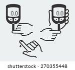 home glucose meter vector...   Shutterstock .eps vector #270355448