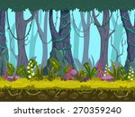 seamless spring forest...