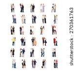 team over white corporate...   Shutterstock . vector #270361763