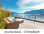 modern architecture  beautiful... | Shutterstock . vector #270368069