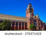 Stock photo harvard university historic building in cambridge at massachusetts usa 270371423