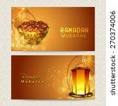 beautiful website header or...   Shutterstock .eps vector #270374006