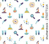 science icons pattern design  ... | Shutterstock .eps vector #270377114