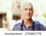 portrait of handsome man... | Shutterstock . vector #270381770