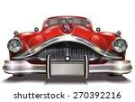 retro car. | Shutterstock .eps vector #270392216