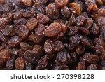 raisins isolated on white...   Shutterstock . vector #270398228